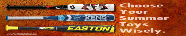 2013 Fastpitch Bats