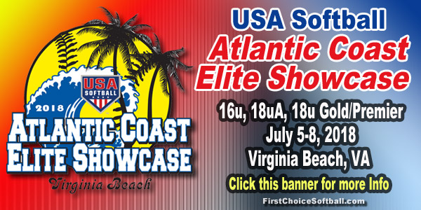 USA SOFTBALL ATLANTIC COAST ELITE SHOWCASE