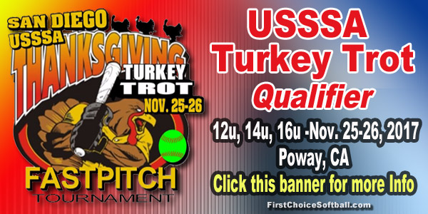 USSSA Turkey Trot Qualifier- Poway, CA