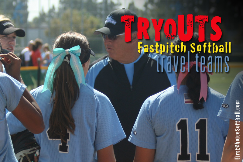 First Choice Softball Team Tryout