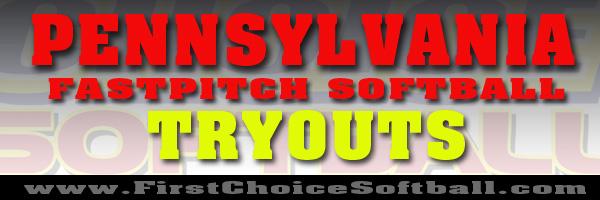 Pennsylvania Fastpitch Softball Tryouts