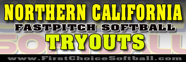 Northern California Fastptich Softball Team Tryouts