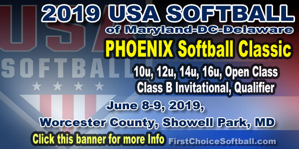 2019 Phoenix Softball Classic, Maryland