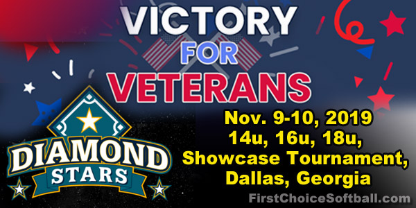 Diamond Stars Victory for Veterans Tournament