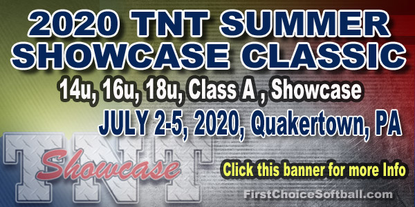 TNT Summer Showcase Classic Fastpitch Softball Tournamnet
