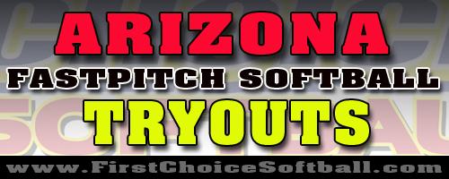 Arizona Softball Tryouts