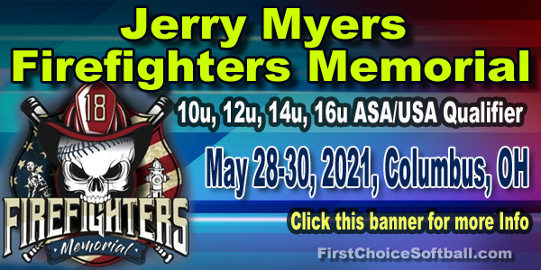 Jerry Myers Firefighter Memorial Softball Tournament