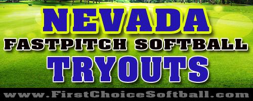 Nevada Softball Tryouts
